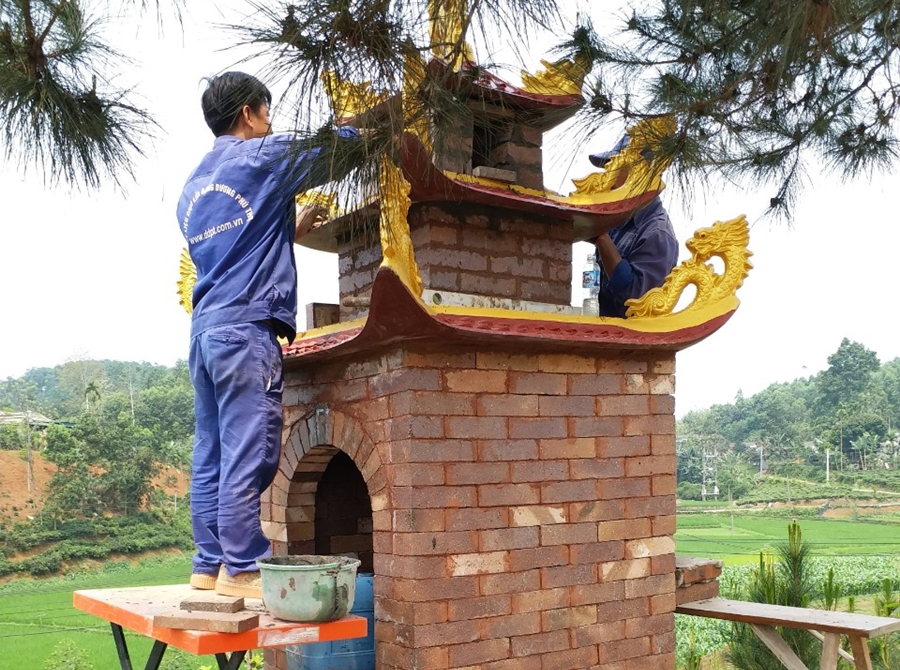 Thợ xây lò chuyên nghiệp – Kinh nghiệm làm việc trên 10 năm