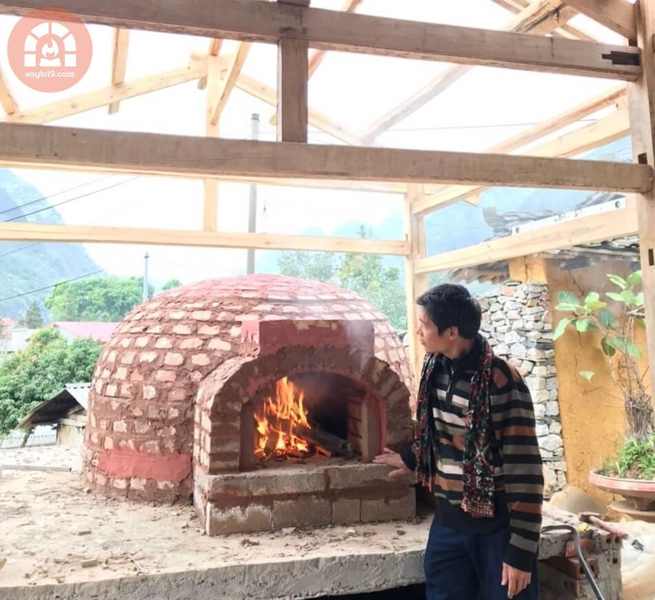 Dịch vụ xây Lò nướng Pizza theo thiết kế